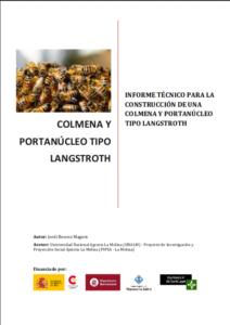 Portada de Colmena y portanúcleo tipo Langstroth (Planos construcción)