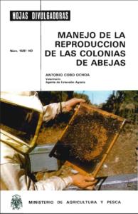 Portada de Manejo de la reproducción de las colonias de abejas