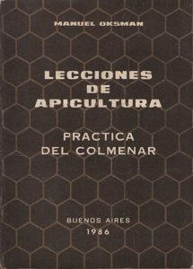 Portada de Lecciones de Apicultura (Manual Oskman)