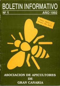 Portada de Boletín Informativo núm. 1