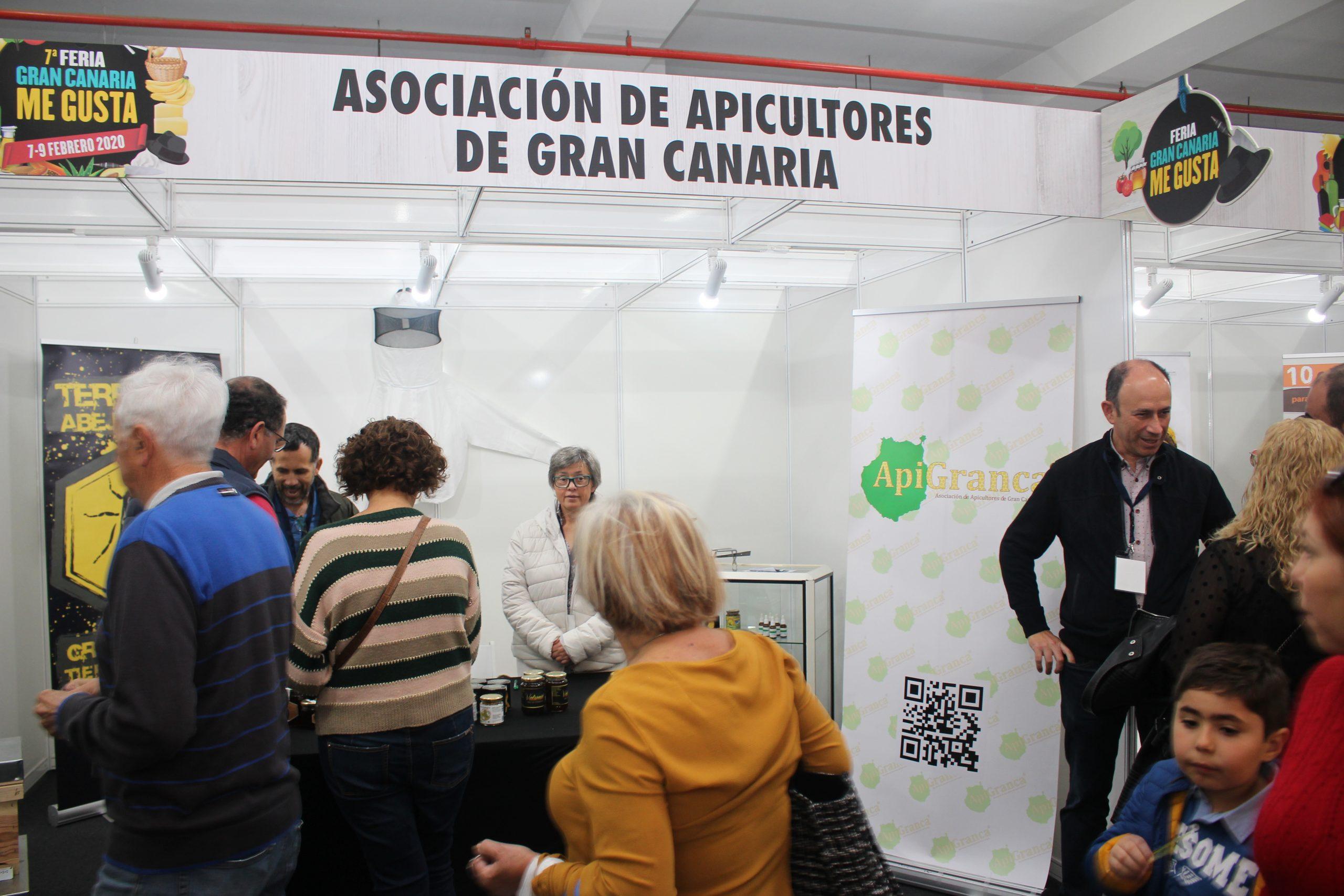 Éxito del stand de ApiGranca en Gran Canaria Me gusta