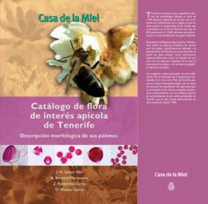 Portada de Catálogo de flora de interés apícola de Tenerife